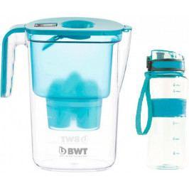 BWT Filtrační konvice Vida + sportovní láhev, modrá