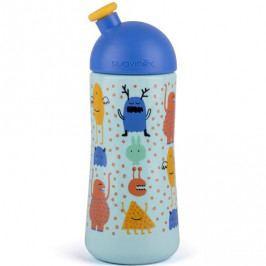 Produkt Suavinex Třetí láhev BOOO 360ml, Modrá Hrnky, láhve na pití