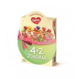 Hami Velikonoční vajíčko multipack 4+2 6x90G
