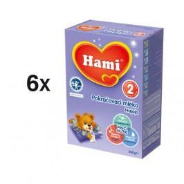 Hami 2 Hajaja, kojenecké mléko, 6 x 500g - II. jakost