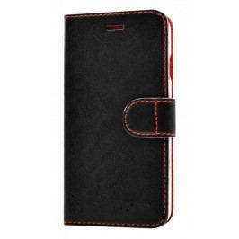 Fixed Fixed pouzdro FIT, kolekce RedPoint, Sony Xperia XA, černá, červené prošití, vel. S- II. jakost