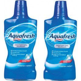 Aquafresh Fresh Mint ústní voda 2 x 500 ml