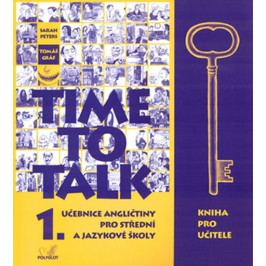 Produkt Peters Sarah, Gráf Tomáš: Time to talk 1 - kniha pro učitele Slovníky a učebnice