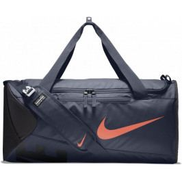 Nike Alpha (Medium) Training Duffel Bag Thunder Blue Black Hyper Crimson