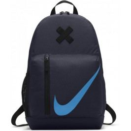 Nike Elemental Backpack Obsidian Black Equator Blue