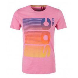 s.Oliver pánské tričko M růžová