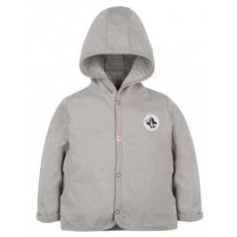 G-mini dětský kabátek Krtek a mravenci 56 šedá