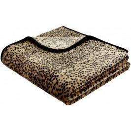 Biederlack Simply Luxury Schneeleopard 180x220 cm