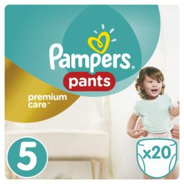 Pampers Premium kalhotkové plenky Carry Box S5 20ks