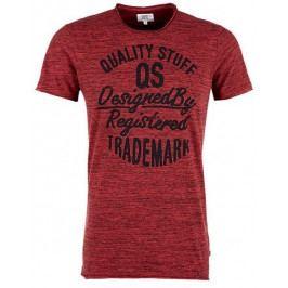 Q/S designed by pánské tričko M červená
