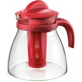 Produkt Tescoma Varná konvice MONTE CARLO s vyluhovacím sítkem, 1,5 l červená Káva a čaj