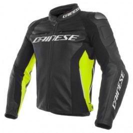 Produkt Dainese bunda RACING 3 vel.56 černá/žlutá-fluo, kůže Bundy na motorku