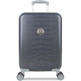 SuitSuit Cestovní kufr Grey Diamond Crocodile S - II. jakost