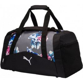 Puma Fund. Sports Bag Graphic M Steel Gray Fl