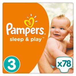 Pampers Plenky Sleep&Play 3 Jumbo Midi - 78s