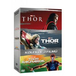 Produkt Kolekce Thor 1-3: Thor + Thor: Temný svět + Thor: Ragnarok (3DVD)   - DVD Fantasy