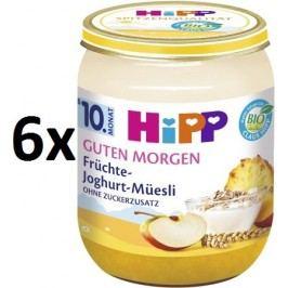 HiPP BIO Müsli, ovoce a jogurt - 6 x 160g expirace 31.8.2018