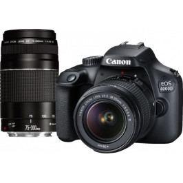 Canon EOS 4000D + 18-55 + 75-300 (3011C010)