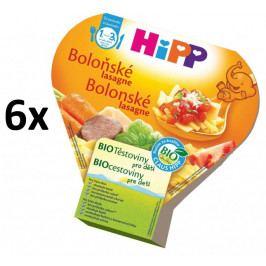 HiPP BIO Boloňské lasagne - 6x250g expirace 15.8.2018