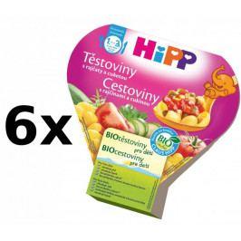 HiPP Těstoviny s rajčaty a cuketou - 6x250g expirace 6.7.2018