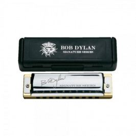 Hohner Bob Dylan Signature Series C / in magnetic cardboard box Signature foukací harmonika