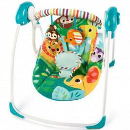 Produkt Bright Starts Houpačka skládací Safari Surprise 0m + Lehátka a sedátka pro děti