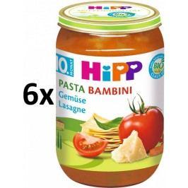 HiPP BIO PASTA BAMBINI Zeleninové lasagne - 6 x 220g exp. 31.7.2018
