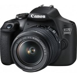 Canon EOS 2000D + 18-55 IS (2728C003)