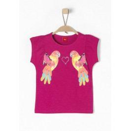 s.Oliver G dívčí tričko 92/98 růžová