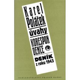 Produkt Poláček Karel: Úvahy, korespondence, deník z roku 1943 Česká klasika