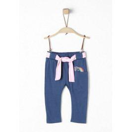 s.Oliver dívčí kalhoty 74 modrá