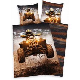Produkt Herding bavlna povlečení Čtyřkolka 140x200 70x90 Povlečení
