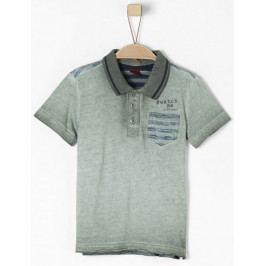 s.Oliver chlapecké tričko 104/110 šedá