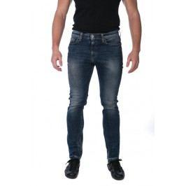 Mustang pánské jeansy Vegas Skinny 35/32 tmavě modrá