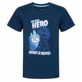 Loap chlapecké tričko IDEALO 112/116 modrá