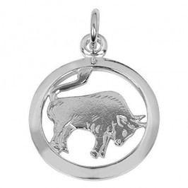 Brilio Silver Stříbrný přívěsek Býk 441 001 00612 04 - 0,98 g stříbro 925/1000
