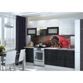 Produkt Kuchyně VALERIA 200/260, black stripe Kuchyňské linky