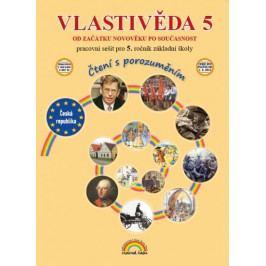 Produkt Vlastivěda 5 - Pracovní sešit pro 5. ročník základní školy (čtení s porozuměním) Slovníky a učebnice