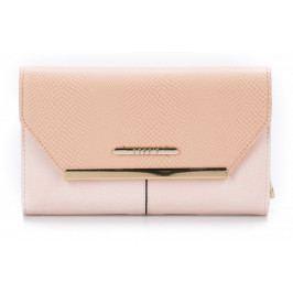 Produkt Bessie London dámská růžová peněženka Peněženky dámské