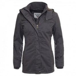 Produkt Bushman Bunda ARETHA, světle šedá, L Bundy a kabáty dámské