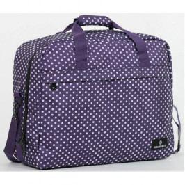 Produkt Member's Cestovní taška 40L SB-0036 fialová/bílá Tašky a kabelky dámské
