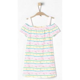s.Oliver dívčí šaty 110 bílá