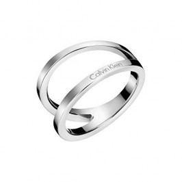Calvin Klein Luxusní ocelový prsten Outline KJ6VMR0001 (Obvod 52 mm)