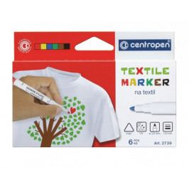 Značkovač 2739 Textil sada 6 barev