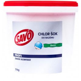 Savo Do Bazénu - Chlor Šok dezinfekce 5 kg Bazénová chemie