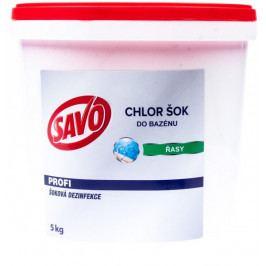 Produkt Savo Do Bazénu - Chlor Šok dezinfekce 5 kg Bazénová chemie