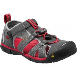 KEEN Seacamp II CNX Jr Magnet/Racing Red US 1 (32-33 EU)