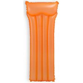 Produkt Intex Lehátko nafukovací neon 183x76 cm oranžová Dětské bazény a hračky