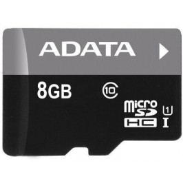 Adata Micro SDHC Premier 8GB UHS-I (AUSDH8GUICL10-R)