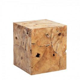 Artenat Konferenční stolek teakový Arco, 40 cm